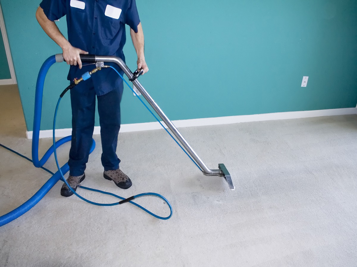 carpet cleaning living room