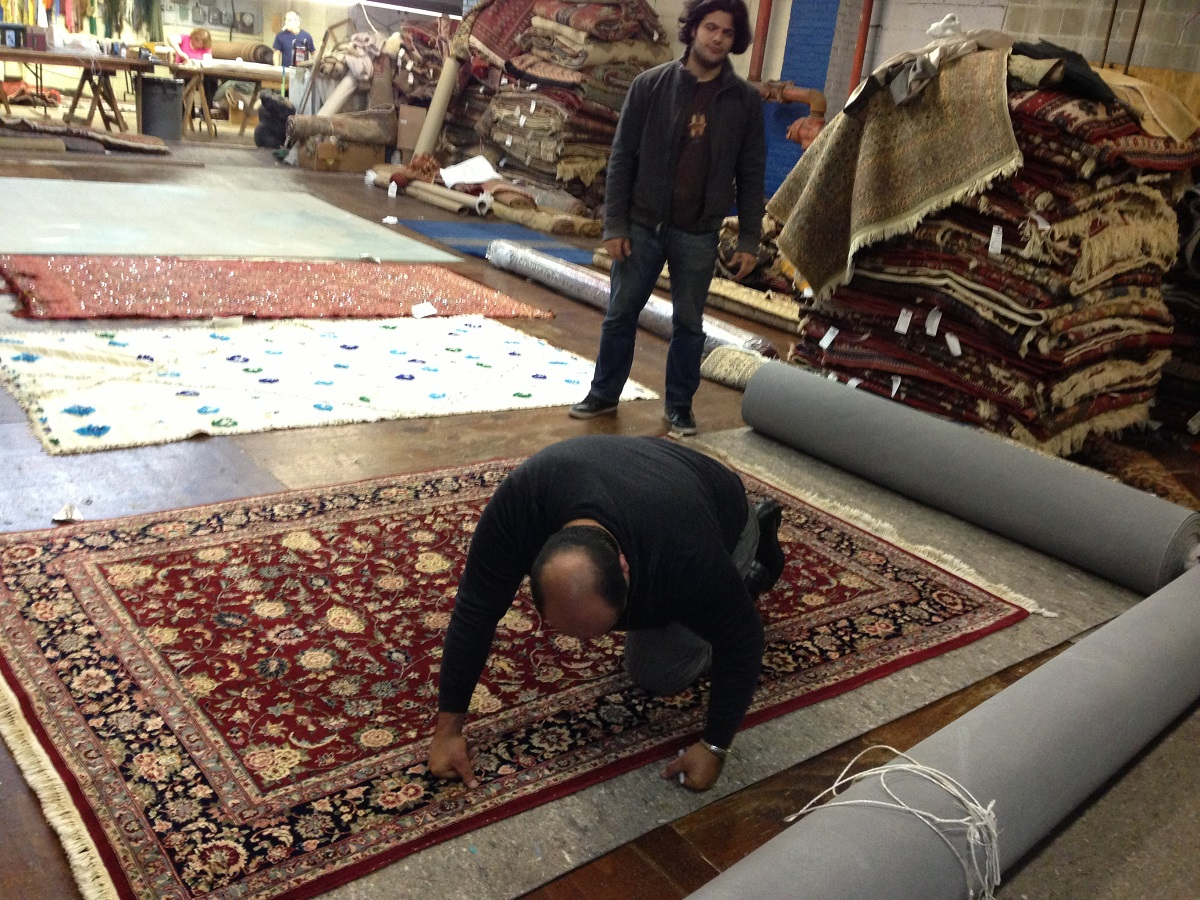 chinese rug cleaning