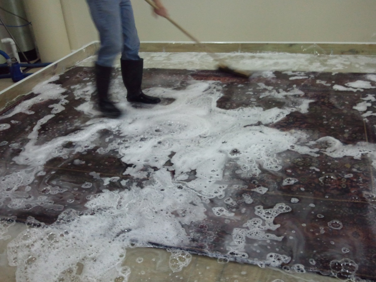 immersion rug cleaning